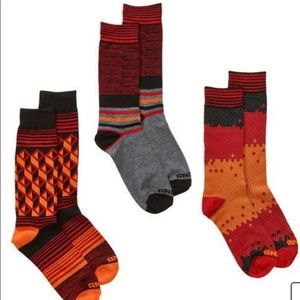 AND 1 Court-side collection set of 3pr socks